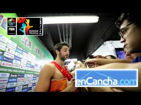 Ricky Rubio post España vs. Serbia #Spain2014