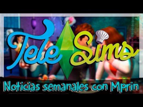 TELESIMS en 2.0 (Noticias) - GAMEPLAY DE ESCAPADA GOURMET + PACK DE NIÑOS EN JUNIO! - 동영상