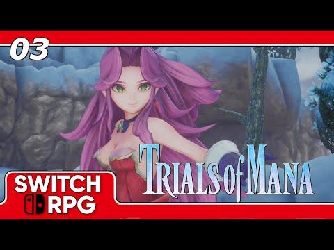 Trials Of Mana Remake Angela Playthrough Nintendo Switch Gameplay Post Demo Episode 12 Youtube