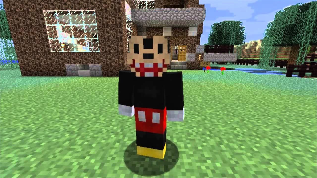 mickey mouse skins