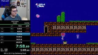 (24:35) Kid Icarus speedrun