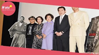 女優香川京子(86)司葉子(83)らが12日、都内で行われた映画「...