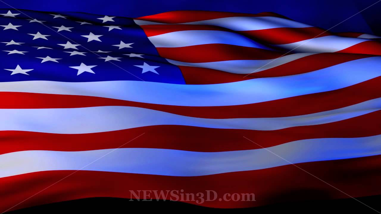 flag american background widescreen animated wallpapers