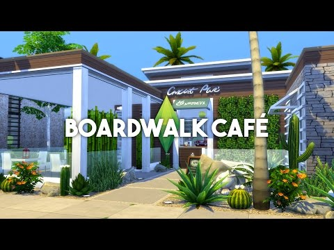 The Sims 4 House Building - Cafe - Speed Build