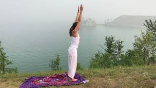 Приветствие солнца. бесплатный йога-урок