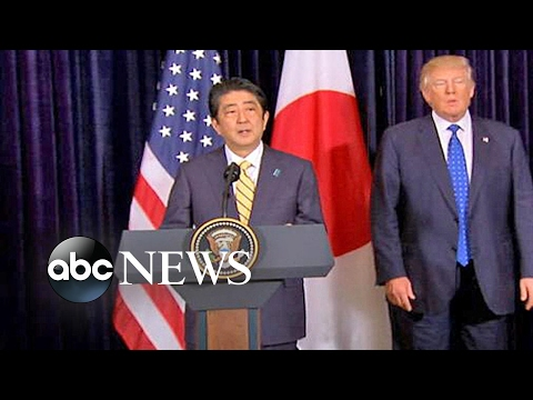 North Korea missile test aimed at Japan while Trump met with prime minister
