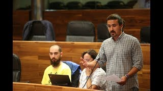 Vilanova pregunta al Conseyeru sobre las xestiones necesarias p'abrir el Muséu del Calamar Xigante