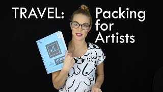 Artist Aid: Packing for Artists