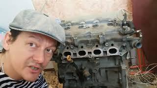 Прогарел клапан Nissan Tiida HD16DE ремонт двигателя после газа