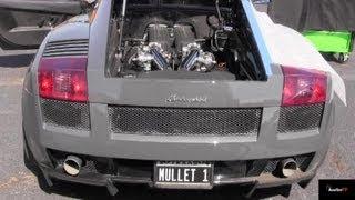 Eddie Bello's 1300 HP Porsche Turbo v Mullet's 1400 HP UGR TT Gallardo- Grudge Match - Road Test ®