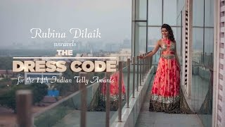 Rubina Dilaik unravels The Dress Code for the 14th Indian Telly Awards