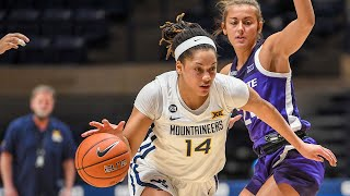 K-State vs West Virginia Women's Basketball Highlights