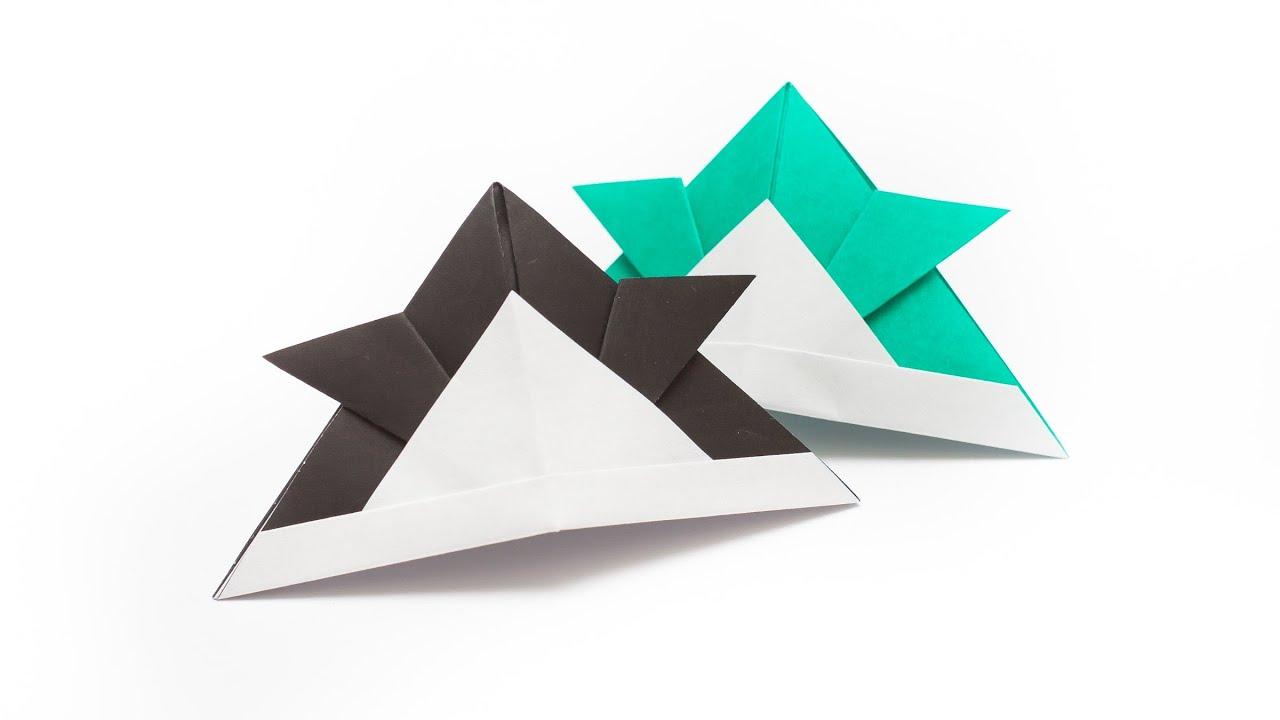 การพับกระดาษเป็นหมวกซามูไร Origami Samurai Hat - YouTube - photo#29