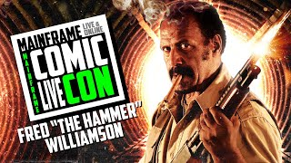 "Fred ""The Hammer"" Williamson Panel at Mainframe Comic Con"
