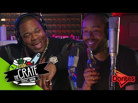 Busta Rhymes & Terrace Martin Make A Fire Beat On The Spot | The Crate