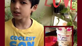 Rishit's Mother's Day song and a surprise Mother's Day craft.#quarantinebelike #Mothersdaysong