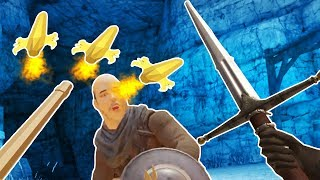 Rocket Spears, Giant Weapons, Oh My! in Blade and Sorcery VR!