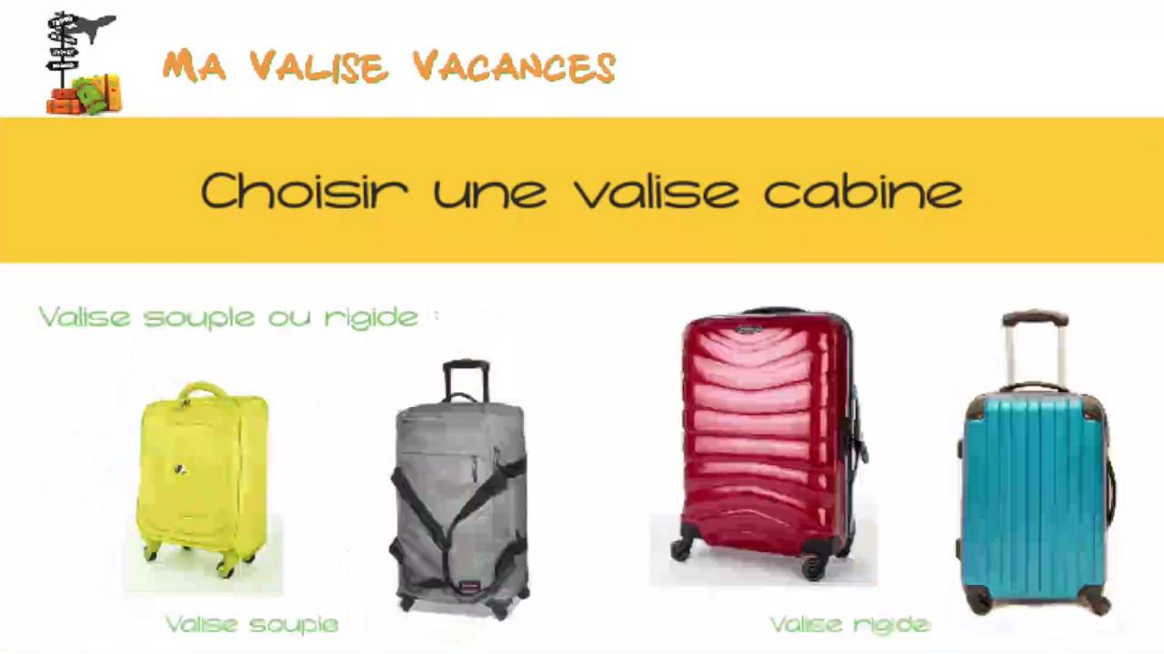 valise cabine comparatif de bagage main ma valise youtube. Black Bedroom Furniture Sets. Home Design Ideas
