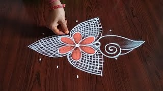 Ekadashi special Rangoli (5×3) dot's...