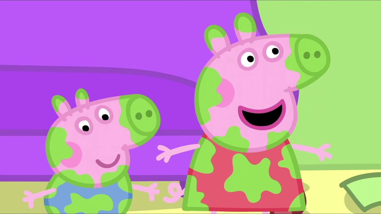 Peppa Pig In Hindi Daddy Pig Frame Laga Rahe Hai ह द Kahaniya Hindi Cartoons For Kids