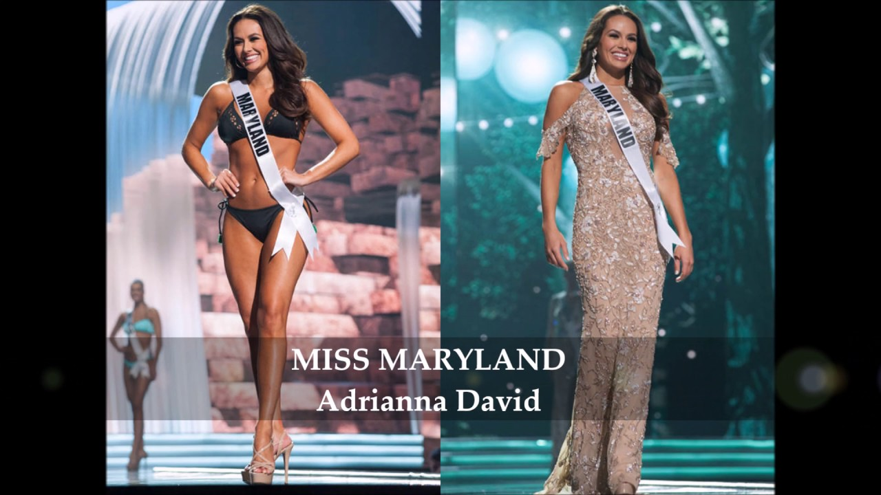 Miss USA 2017: Swimsuit & evening gown photos of contestants, including ...