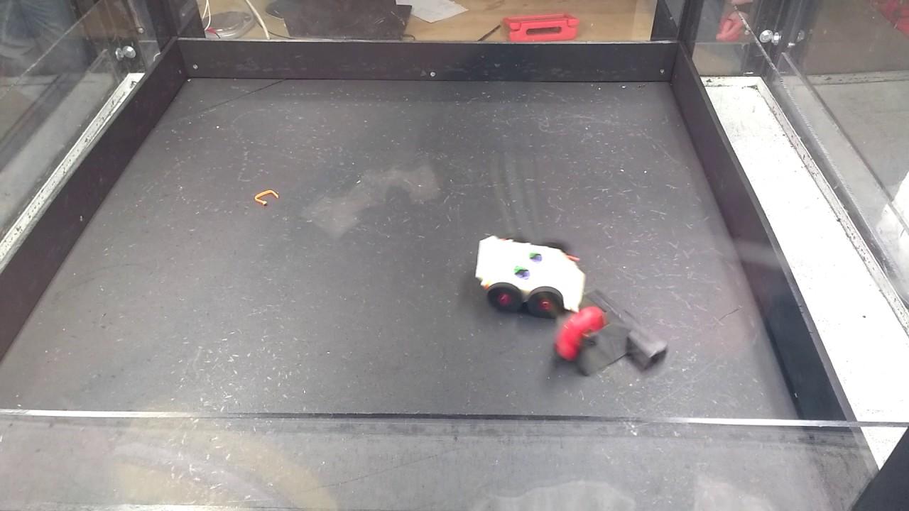 Doominator vs  Cannibal - 1 lb Plastic 3D printed class battle bots