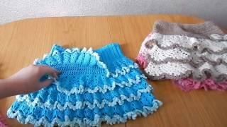 юбочки крючком  (The crochet skirts)