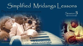 Simplified Mridangam Lessons (Lesson - 3) in Hindi by Bal Govind Das