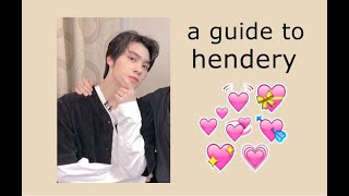 "a ""kinda"" helpful guide to WayV's HENDERY"