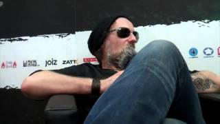 Music Talk Interview mit Chrigel Glanzmann von Eluveitie Greenfield Festival 2014