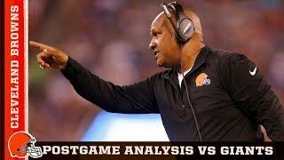 Browns vs Giants: Postgame analysis