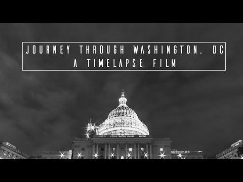 Journey Through Washington, DC | A Timelapse Film