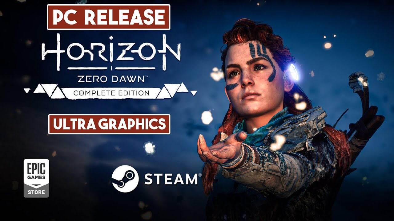 HORIZON ZERO DAWN Gameplay On PC ULTRA GRAPHICS