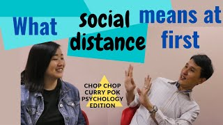 Ep 29 Social Distance In Psychology In 6 Minutes.