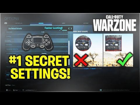 99% Are PLAYING WRONG! Best Controller Settings WARZONE And AIM ASSIST On WARZONE! - COD Warzone PS4