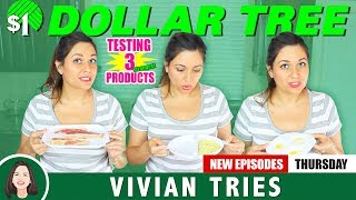 $1 DOLLAR TREE KITCHEN ITEMS TESTED | VIVIAN TRIES TESTING THE DOLLAR TREE KITCHEN PRODUCTS