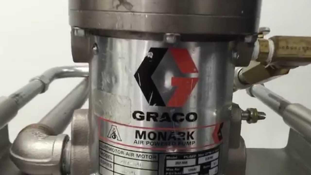 Air Powered Graco Monark Drum Pump Model 207 550