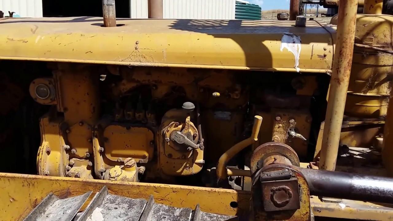 Caterpillar 1951 D2 start up