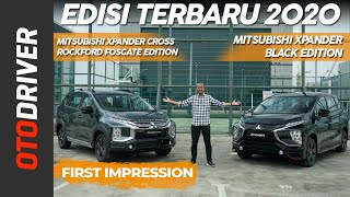Mitsubishi Xpander & Xpander Cross Black Edition | First Impression | OtoDriver