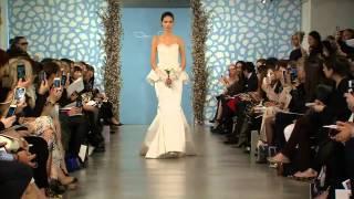 Défilé robes de mariée Oscar de la Renta 2014