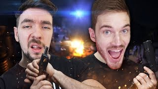 JACKSEPTICEYE KILLS PEWDIEPIE  | Arizona Sunshine w/ Felix(HTC Vive Virtual Reality)
