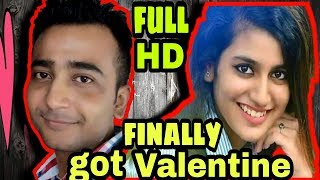 Finally got Valentine Priya Prakash Varrier... Unseen viral video....