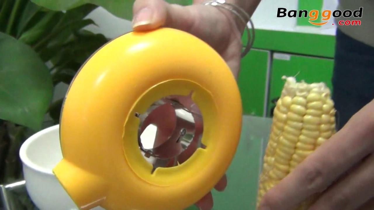One Step Corn Kerneler Peeler - Banggood.com