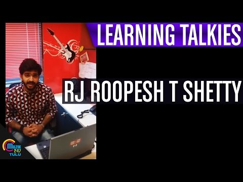 Learning Talkies    RJ Roopesh T Shetty    Muzik247 Tulu