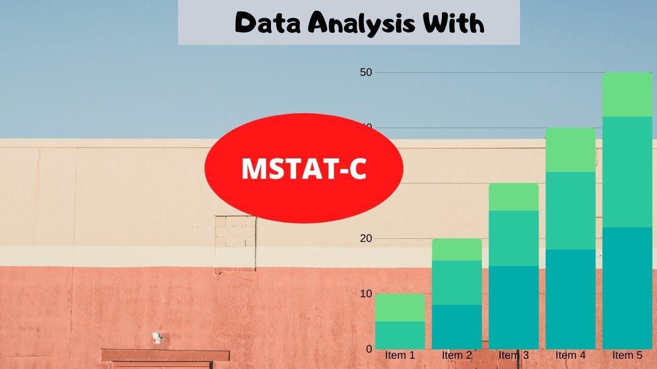 mstat statistical software