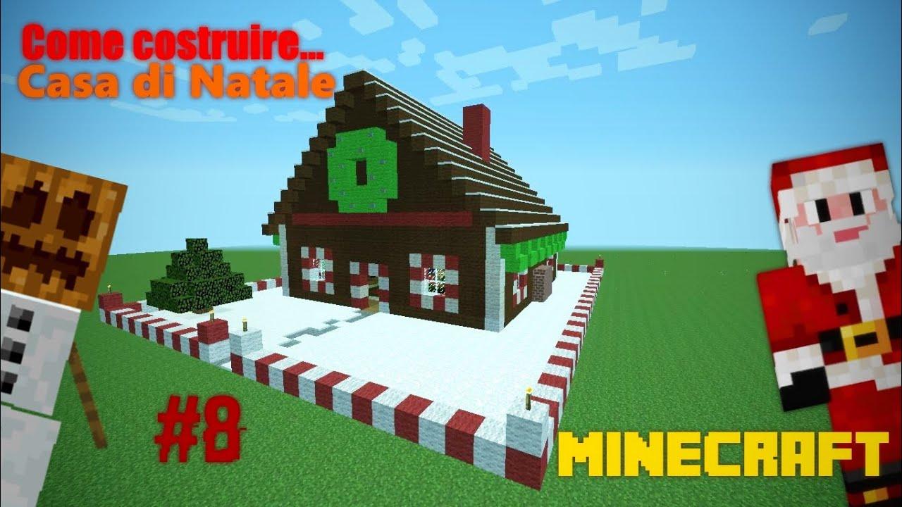 Minecraft ita come costruire una casa di natale for Piccoli progetti di casa di minecraft