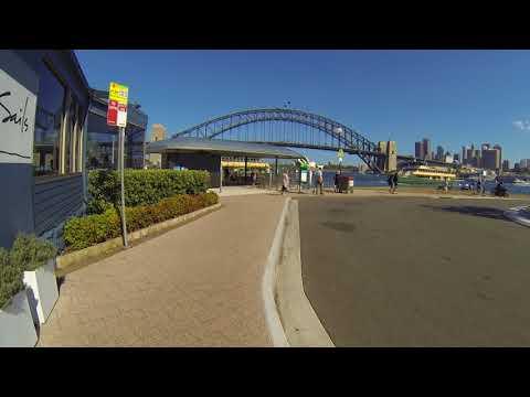 Walk to McMahons Point ferry wharf