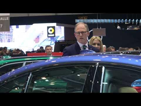 [4k] G30 Alpina B5 BiTurbo Press Conference with Andreas Bovensiepen Geneva 2017