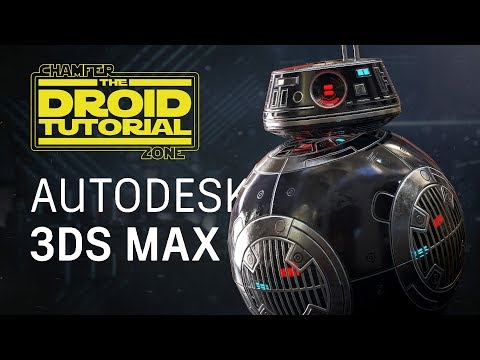 Star Wars: Droid Tutorial - Part 1 - Modeling & UV Unwrapping - 3Ds Max