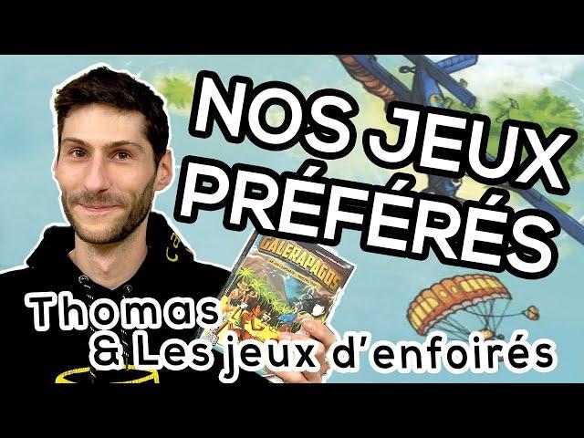 MES 5 JEUX D'ENFOIRÉS PRÉFÉRÉS - Thomas 🙋♂️